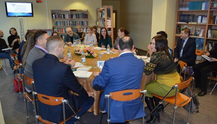 Окружной Дом народного творчества посетила делегация Республики Беларусь
