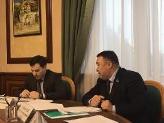 Александр Новьюхов принял участие в рабочем совещании о законодательном регулировании социальной пенсии по старости коренным малочисленным народам Севера