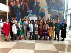 Выступающего от RAIPON – Ольгу Николаеву поддерживали аплодисментами