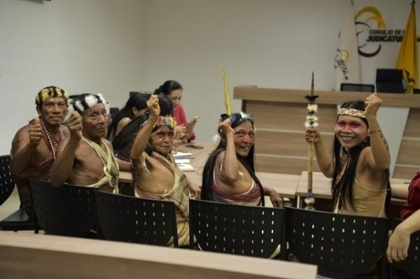 ЦС КМНС – Племя Амазонки выиграло судебный процесс против передачи их земли нефтяным компаниям