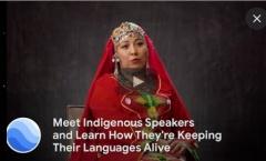 """Google решила """"привязать"""" к карте мира языки коренных народов"""