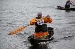 """""""Спасение Югры"""" проводит ежегодные соревнования по гребле на лодках-калданках"""