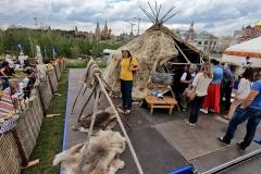 Коренные народы Арктики представлены в парке Зарядье в центре Москвы
