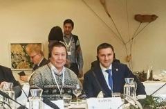 Делегация Ассоциации в Рованиеми. Григорий Ледков, совместно с Дмитрием Кобылкиным принимает участие в мероприятиях на полях Арктического форума.